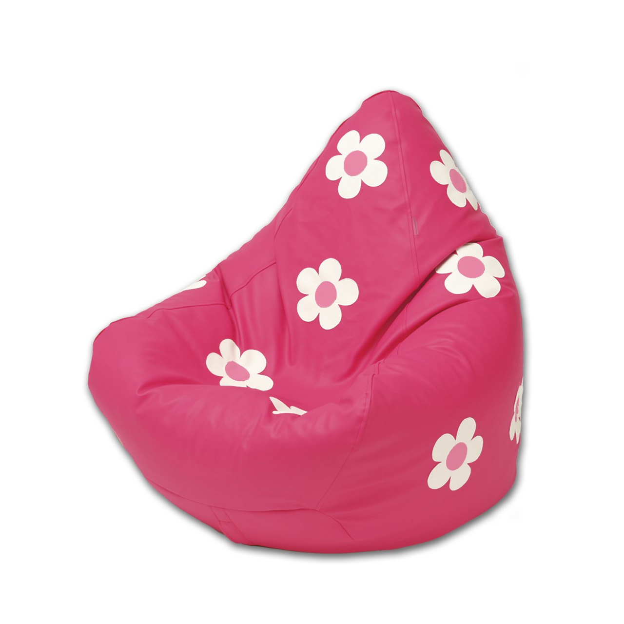 Daisy Bean Bag in flamingo