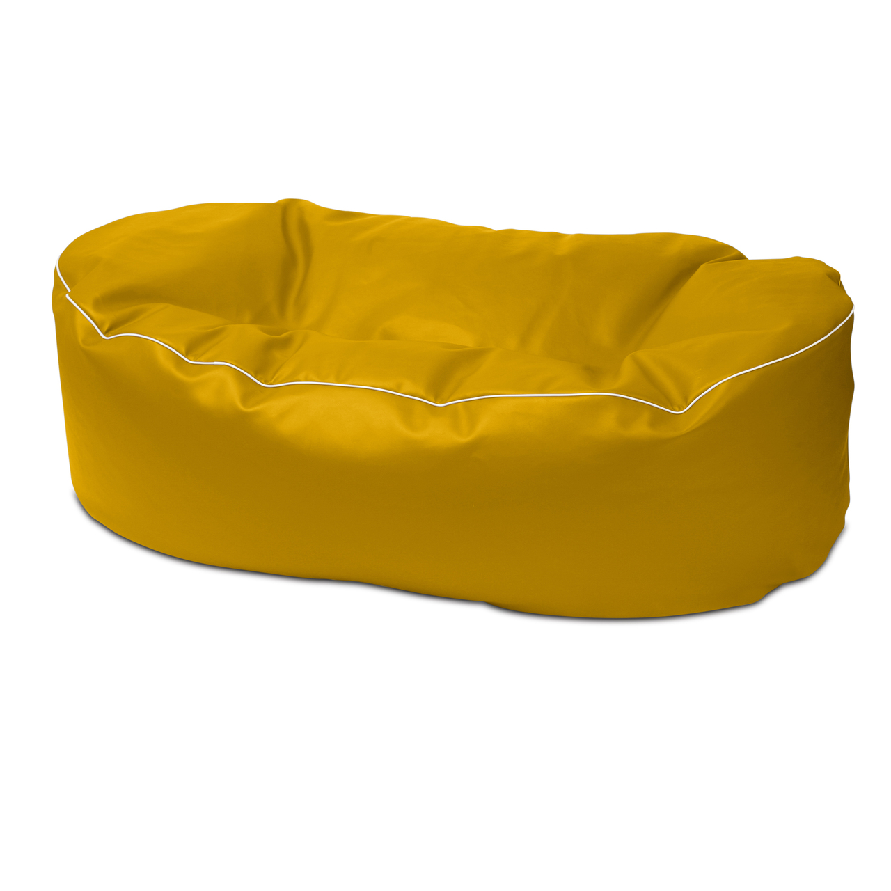 Retro 2m Couch in canary