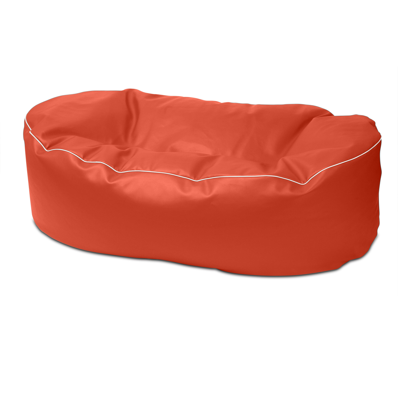 Retro 2m Couch in paprika