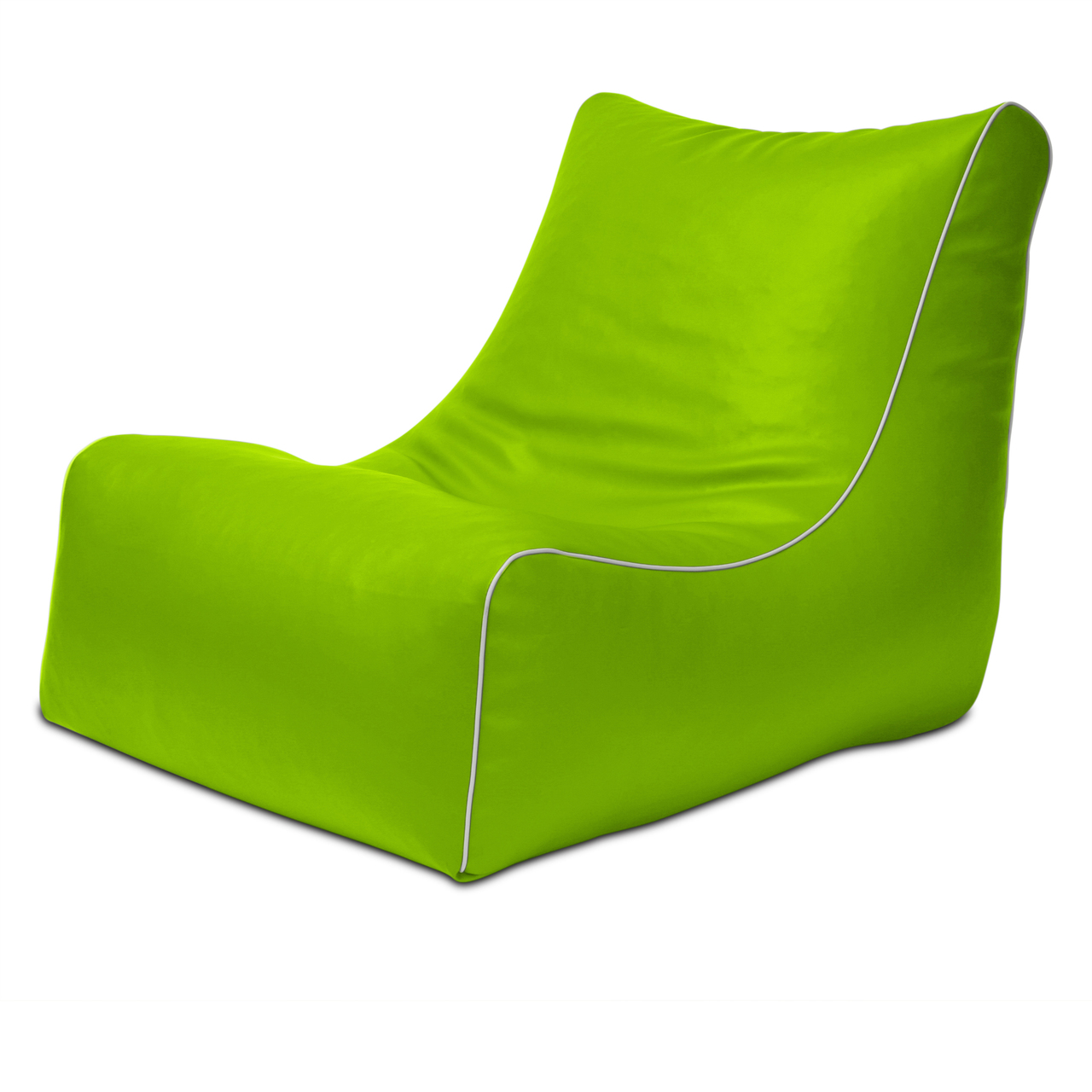 Retro L-Shape in lime