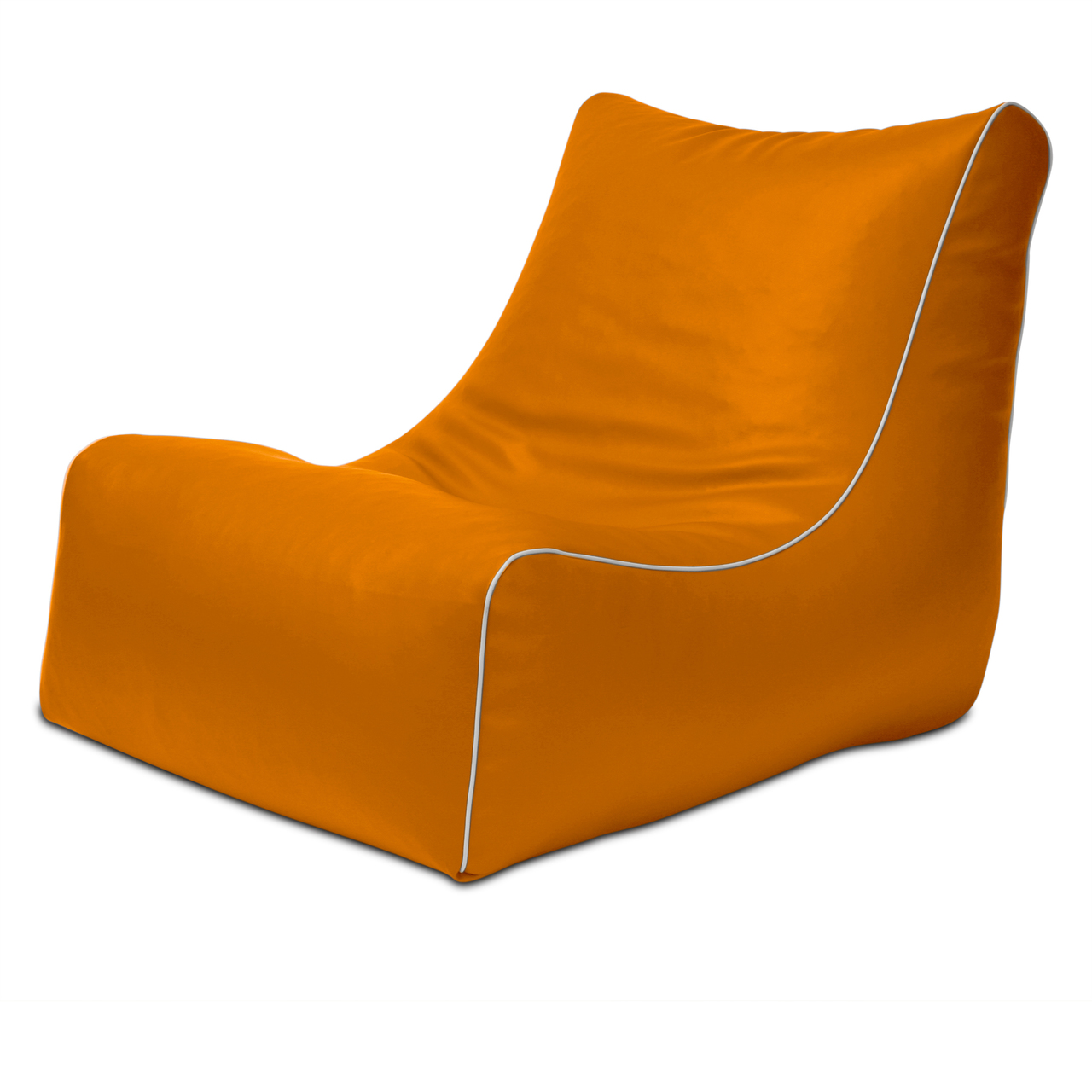 Retro L-Shape in orange