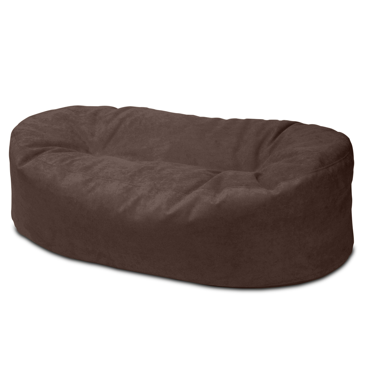 Warwick Macrosuede 2m Couch in raisin