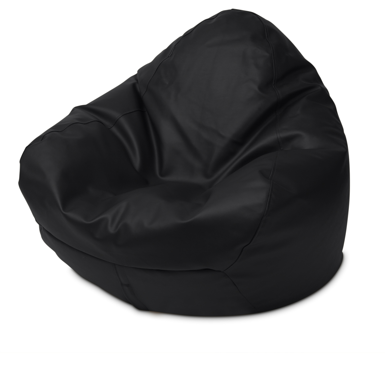 Classic Queen Size Bean Bag in black