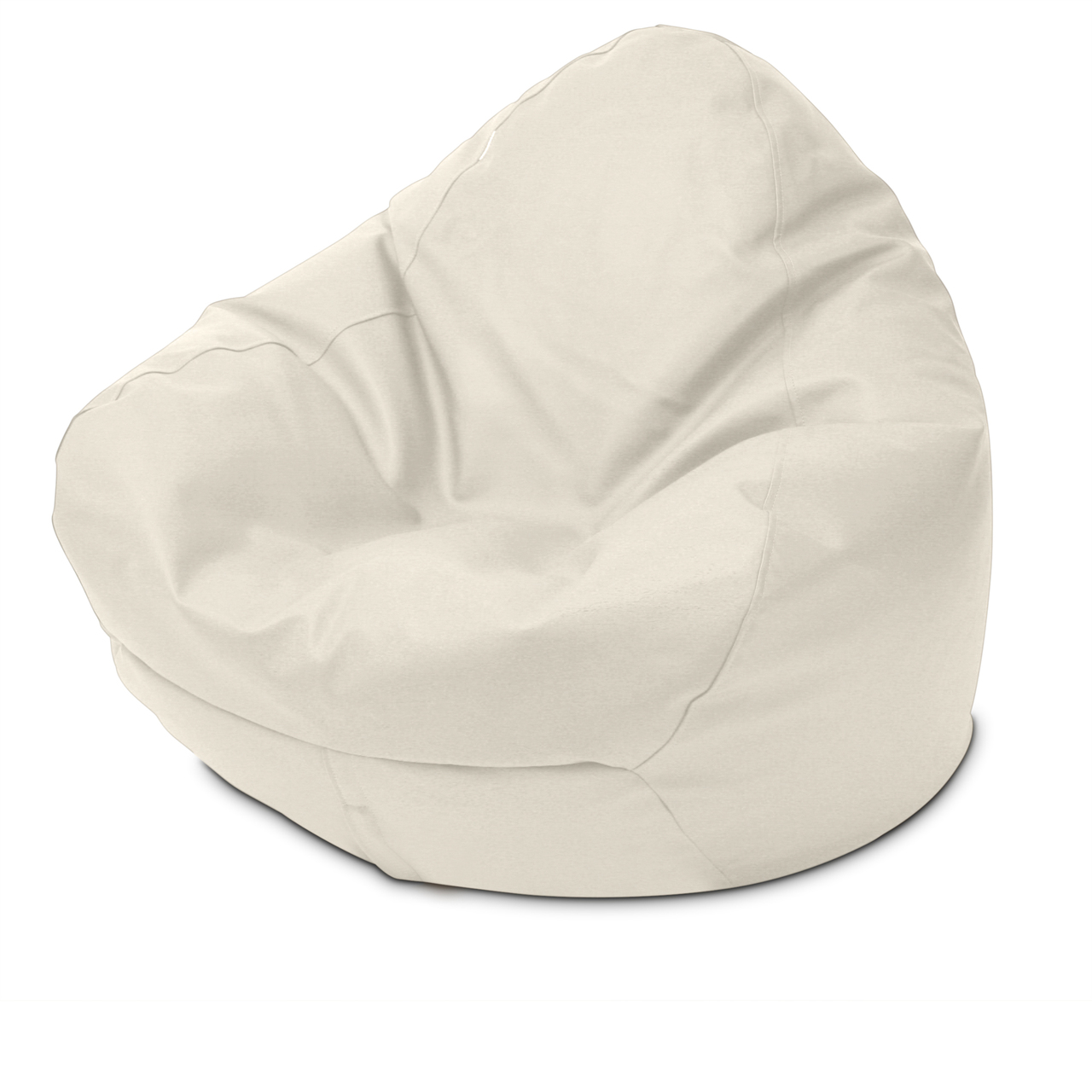 Classic Queen Size Bean Bag in marshmallow
