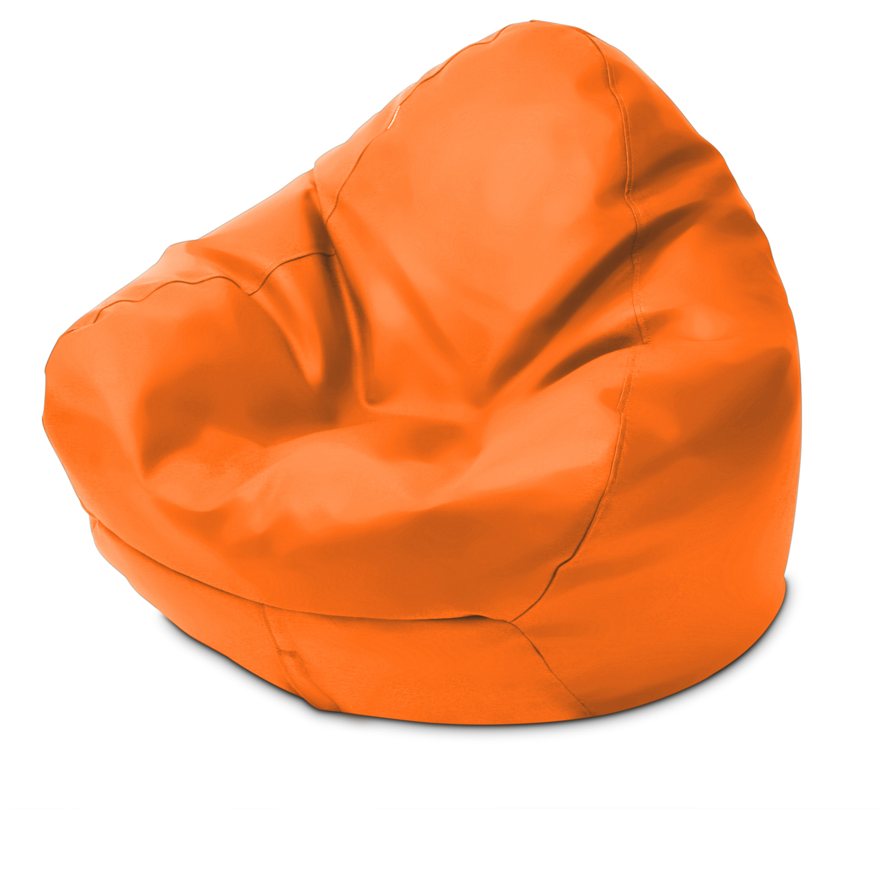 Classic Queen Size Bean Bag in orange
