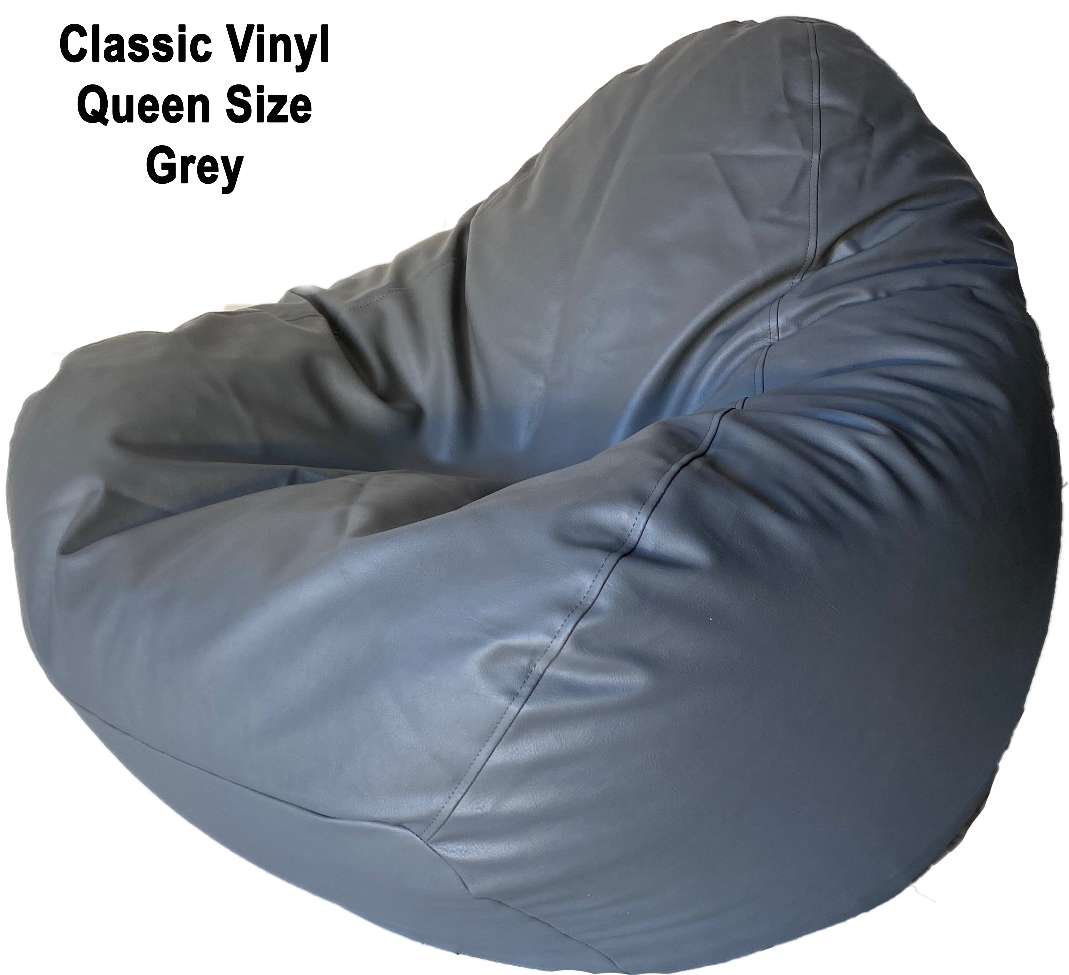 Classic Queen Size Bean Bag in assorted colours