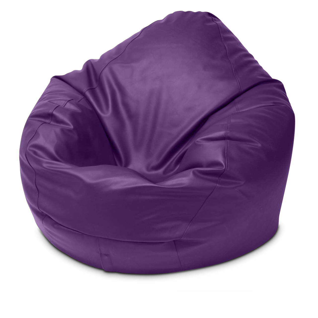 Classic King Size Bean Bag in grape
