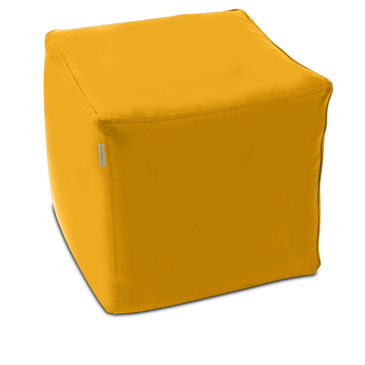 Classic Cube Poof in canary