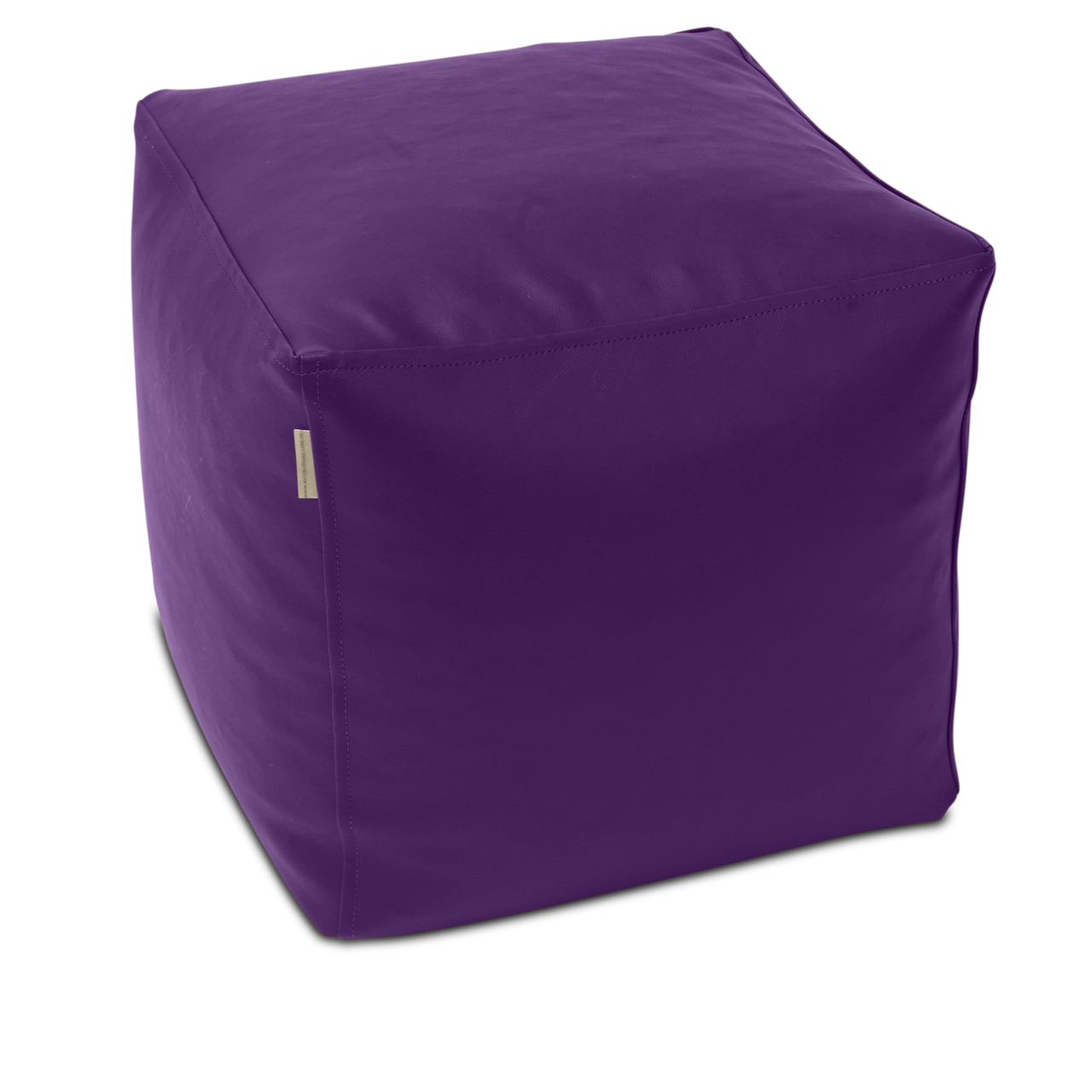 Classic Cube Poof in grape