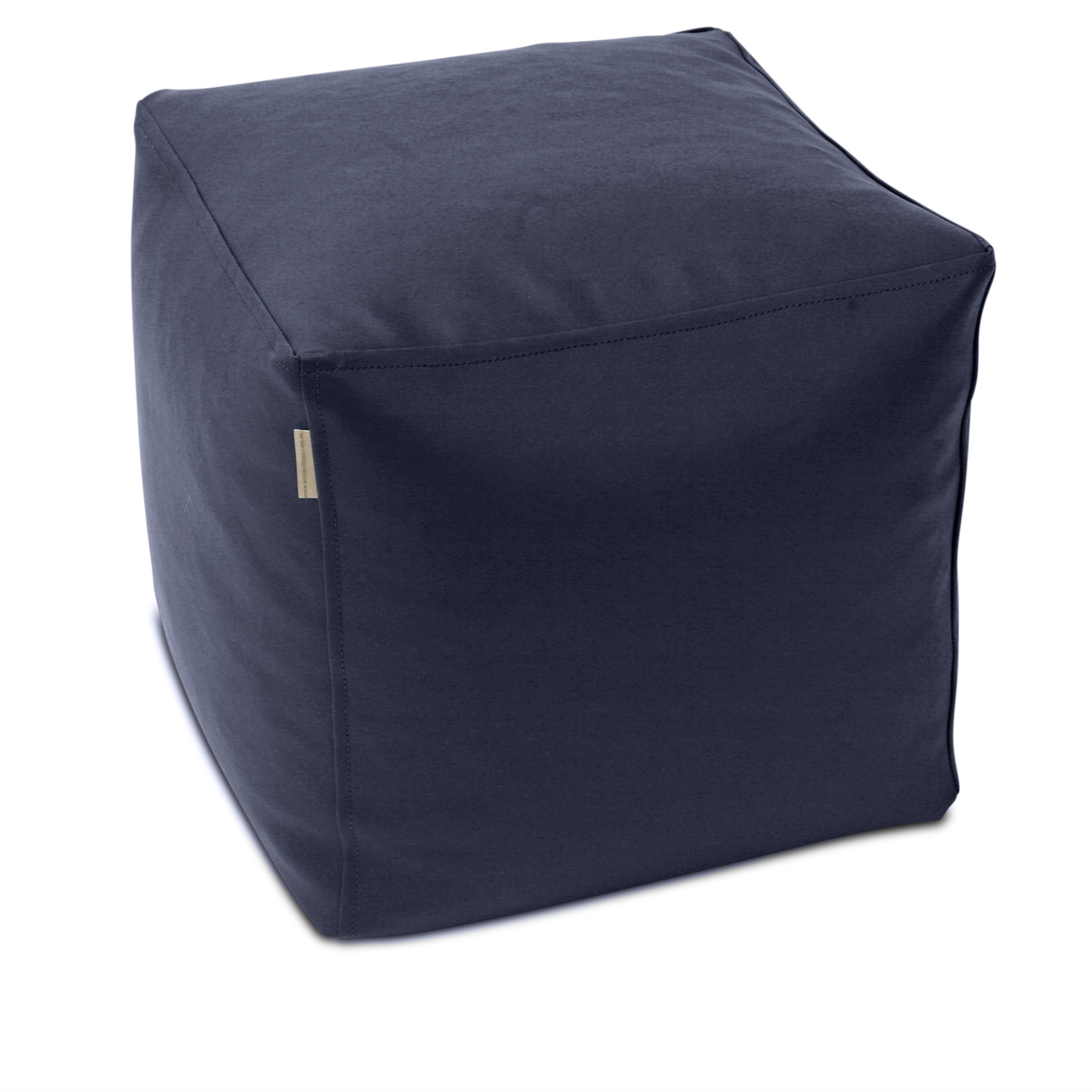 Classic Cube Poof in navy
