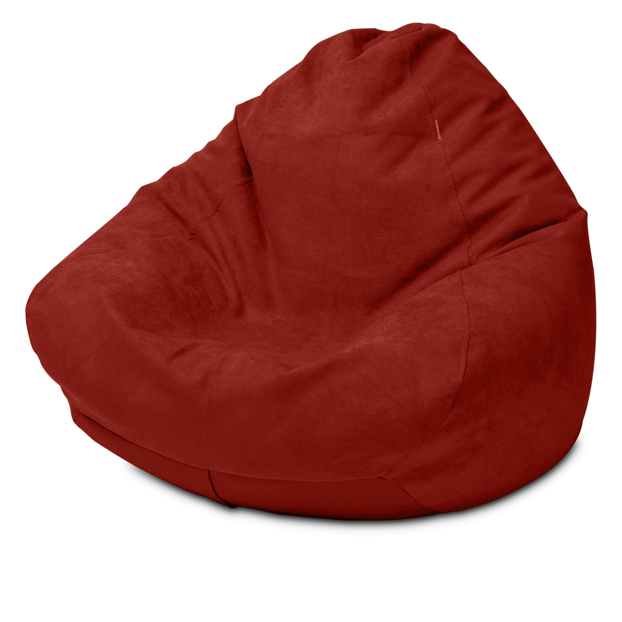 Warwick Macrosuede King Size Bean Bag in raspberry