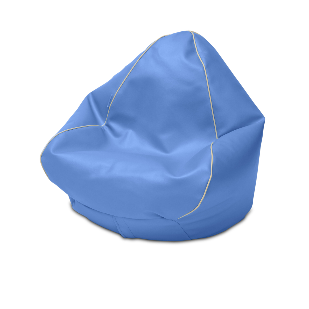 Retro Kids Bean Bag in azure