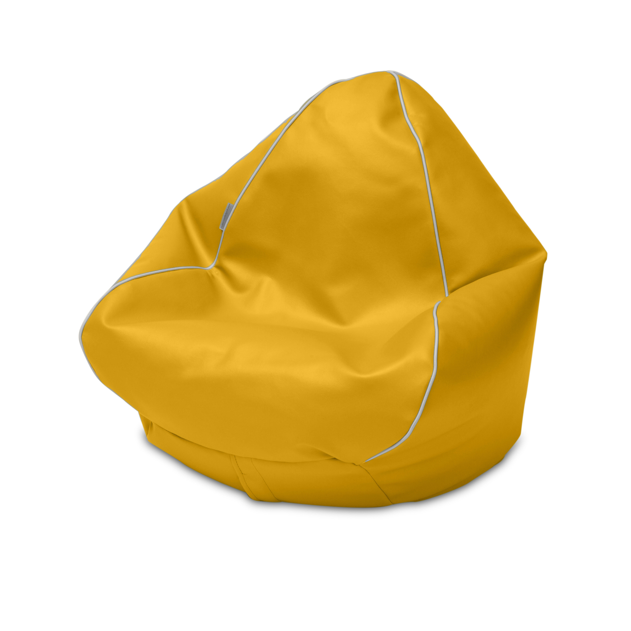 Retro Kids Bean Bag in canary