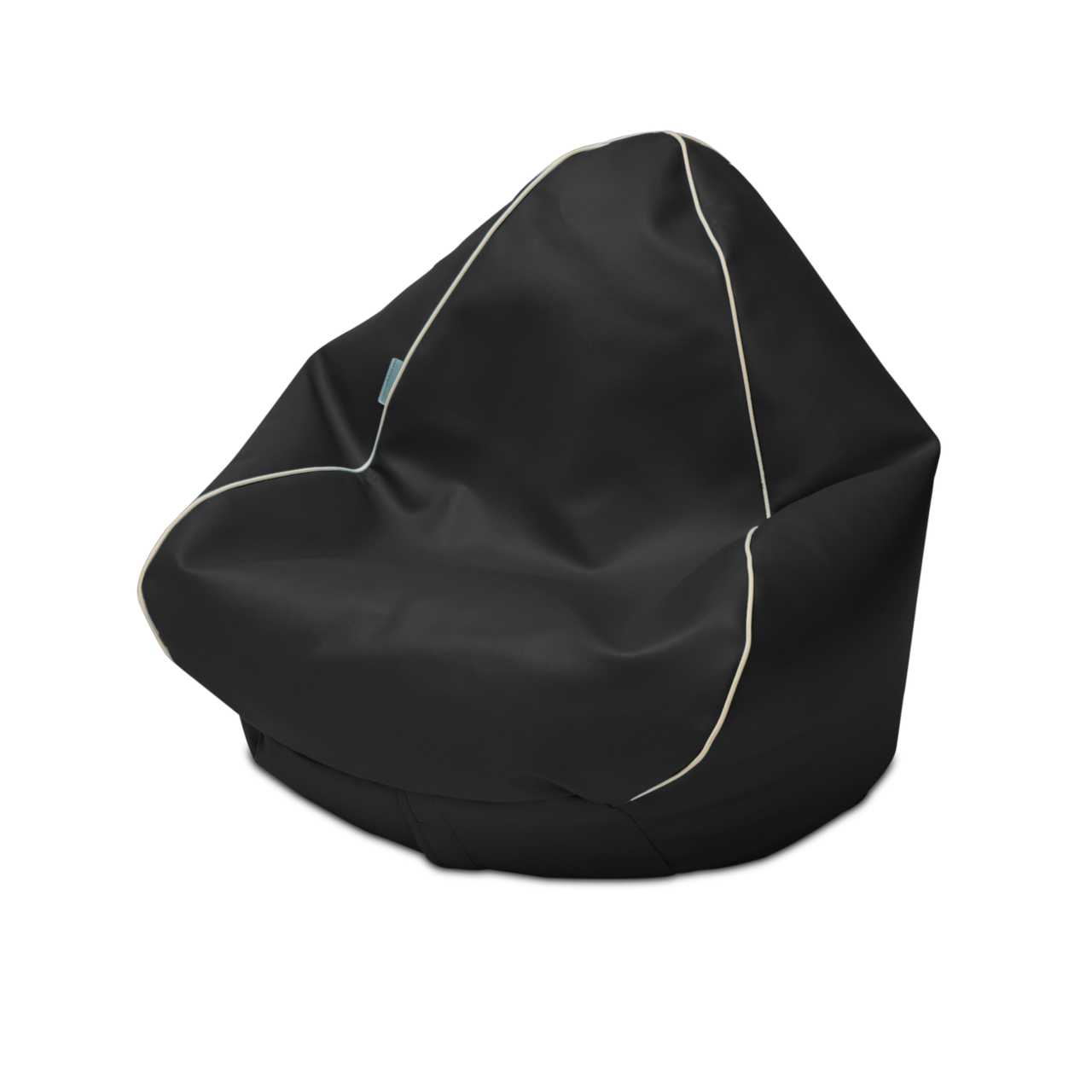 Retro Kids Bean Bag in black