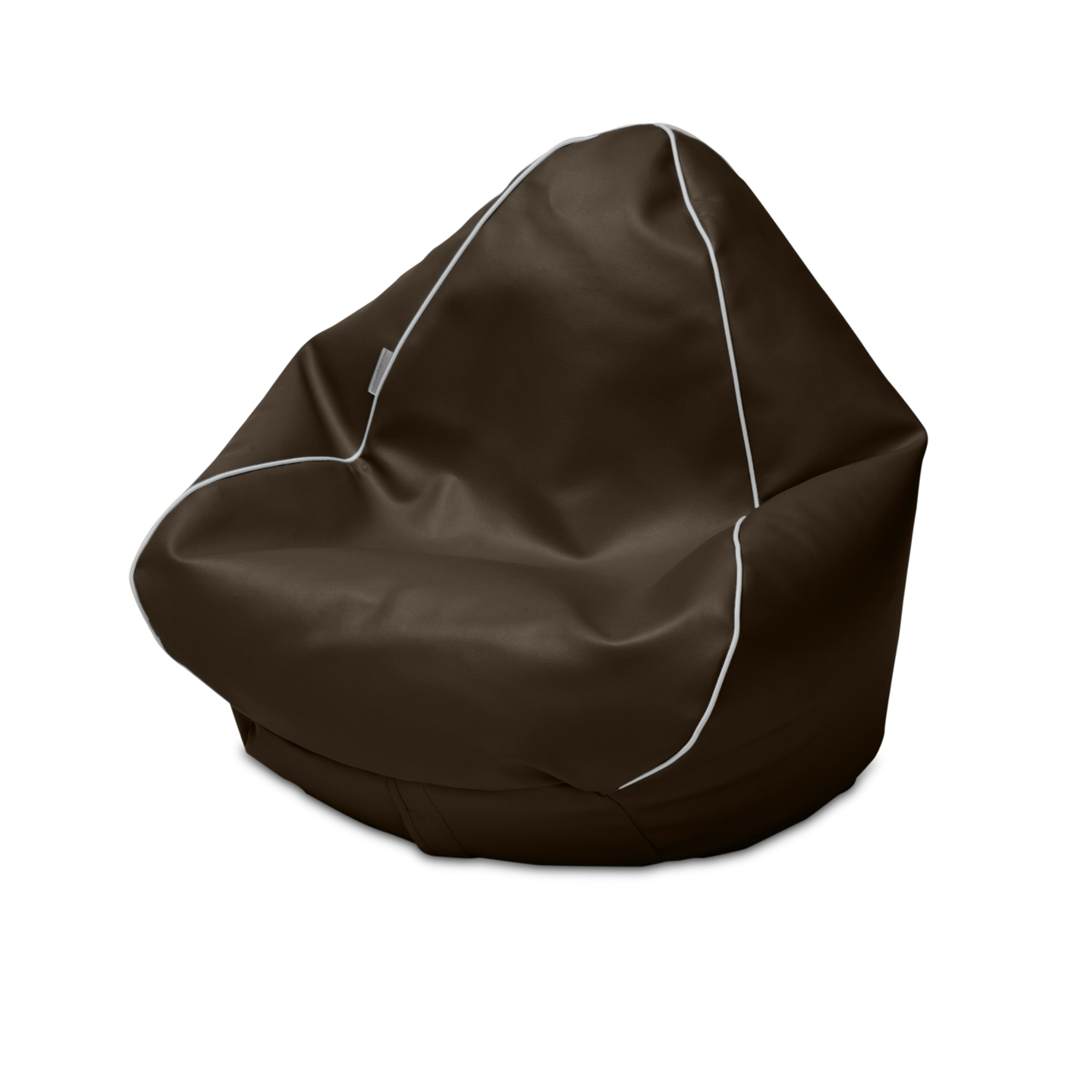 Retro Kids Bean Bag in chocolate