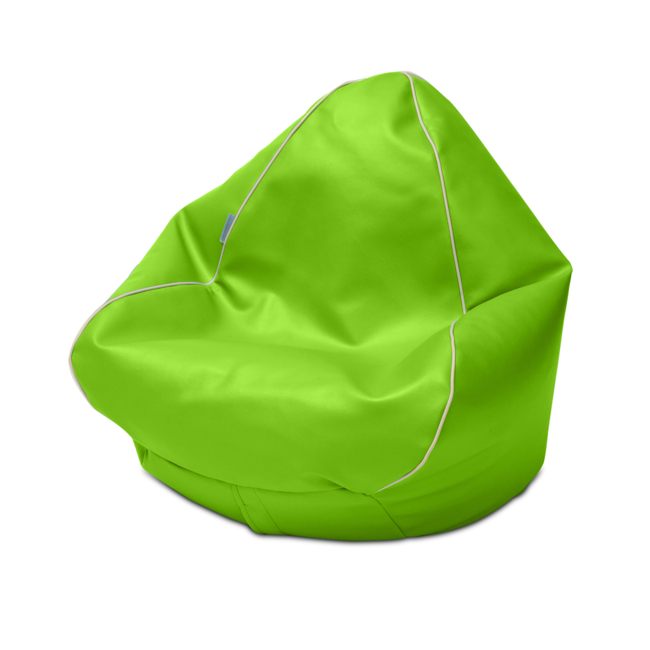 Retro Kids Bean Bag in lime