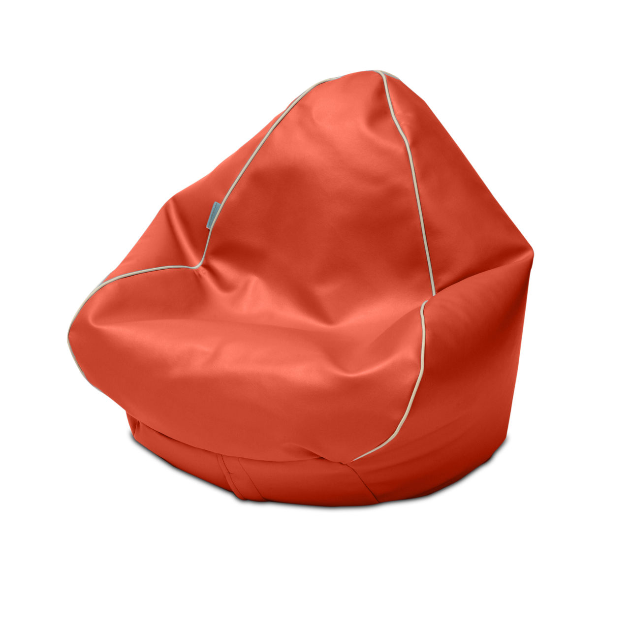 Retro Kids Bean Bag in paprika