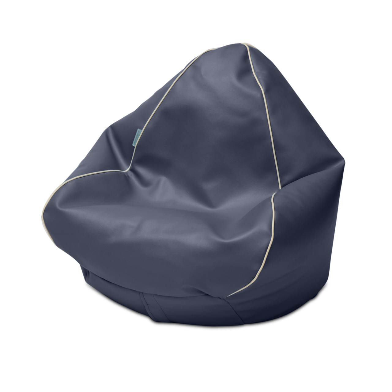 Retro Kids Bean Bag in navy
