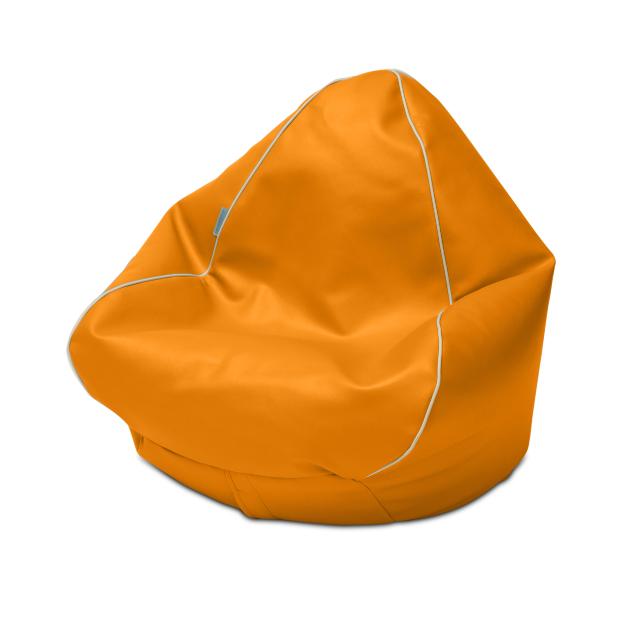 Retro Kids Bean Bag in orange
