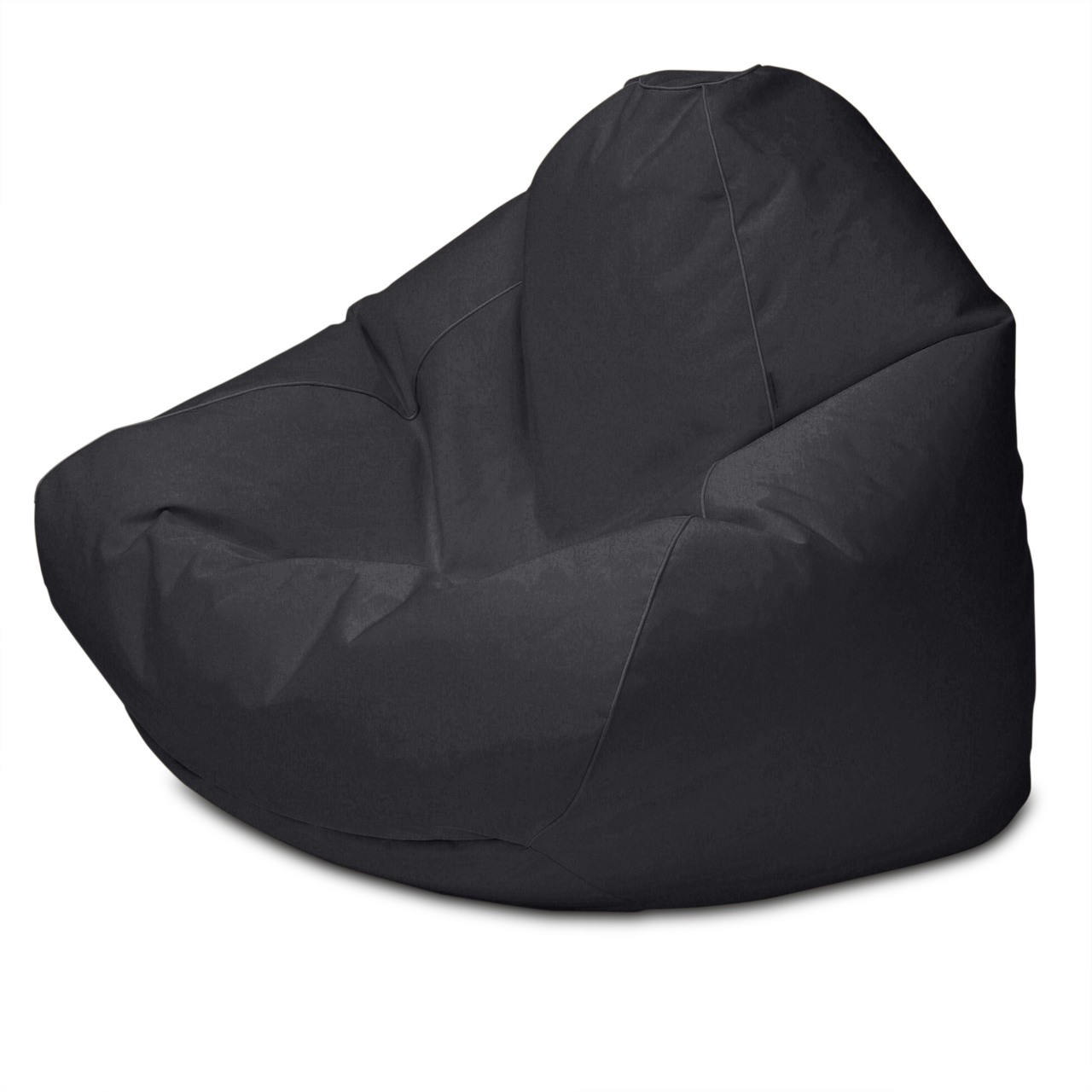 Sunbrella Outdoor Queen Size Bean Bag in black