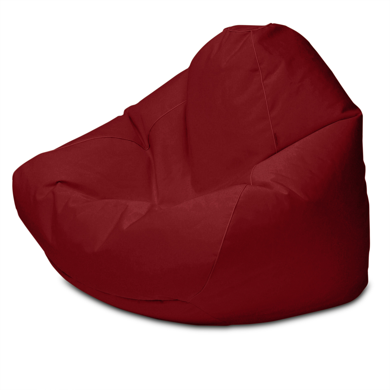 Sunbrella Outdoor Queen Size Bean Bag in jockey red