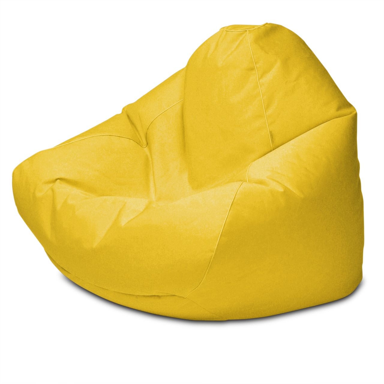 Sunbrella Outdoor Queen Size Bean Bag in yellow