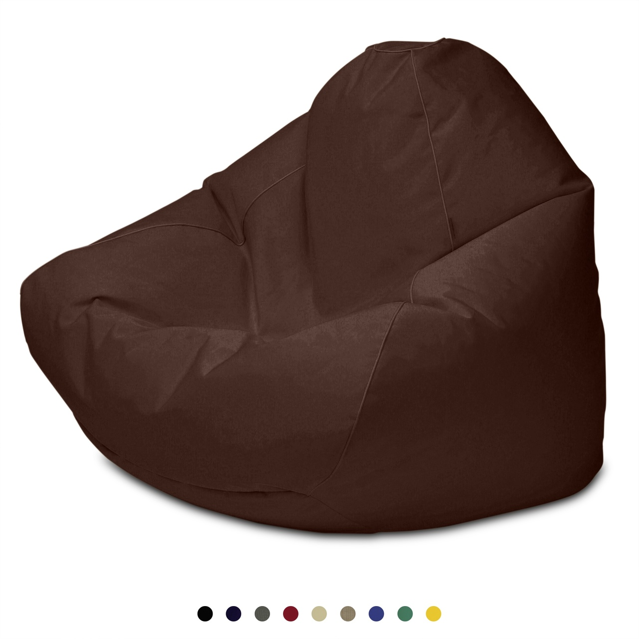 Sunbrella Outdoor Queen Size Bean Bag in brown