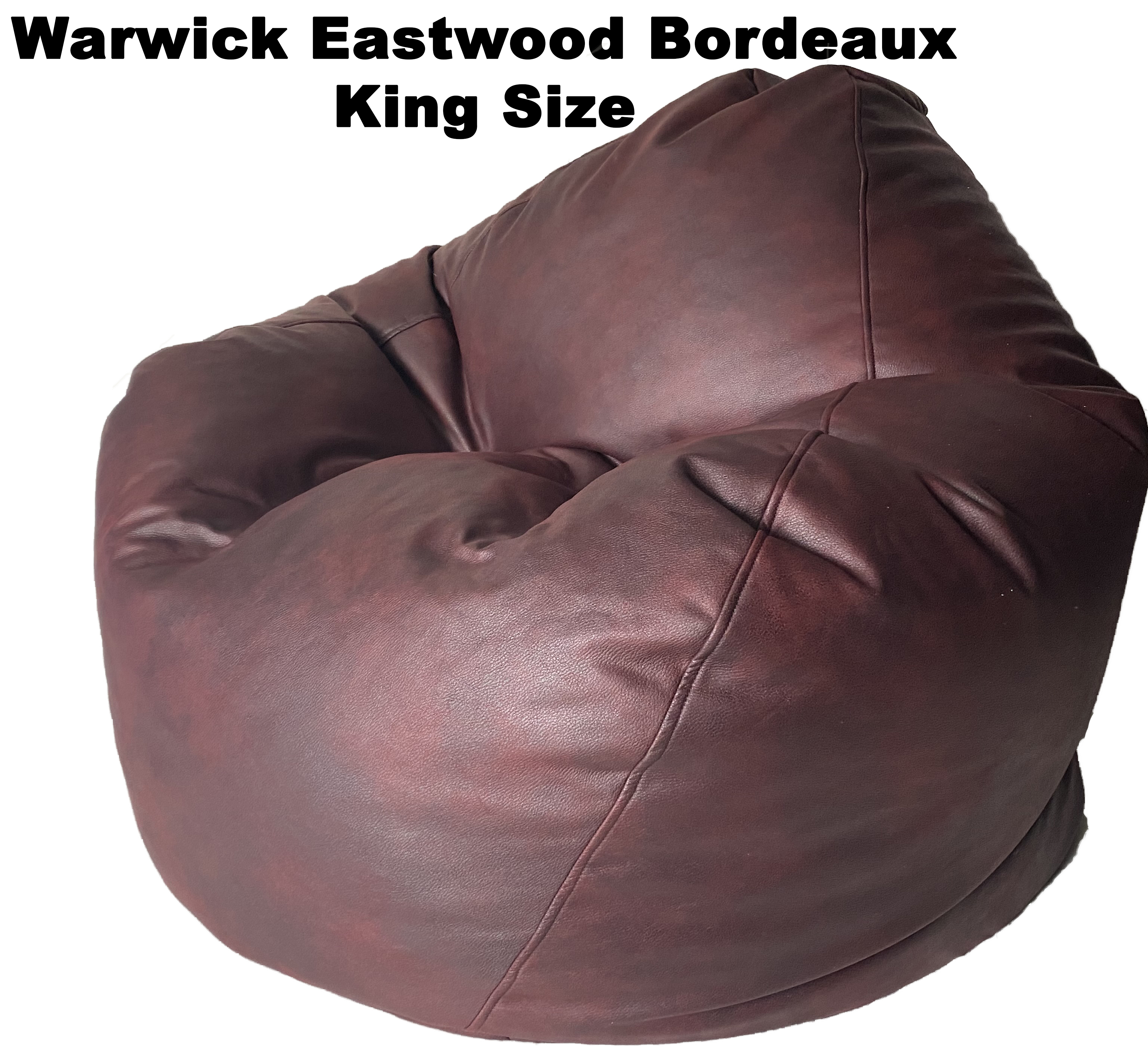 Warwick Eastwood King Bean Bag in assorted colours