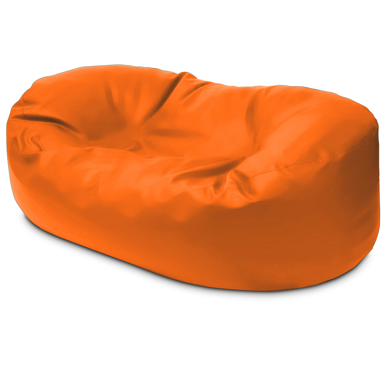 Classic 2m Couch in orange