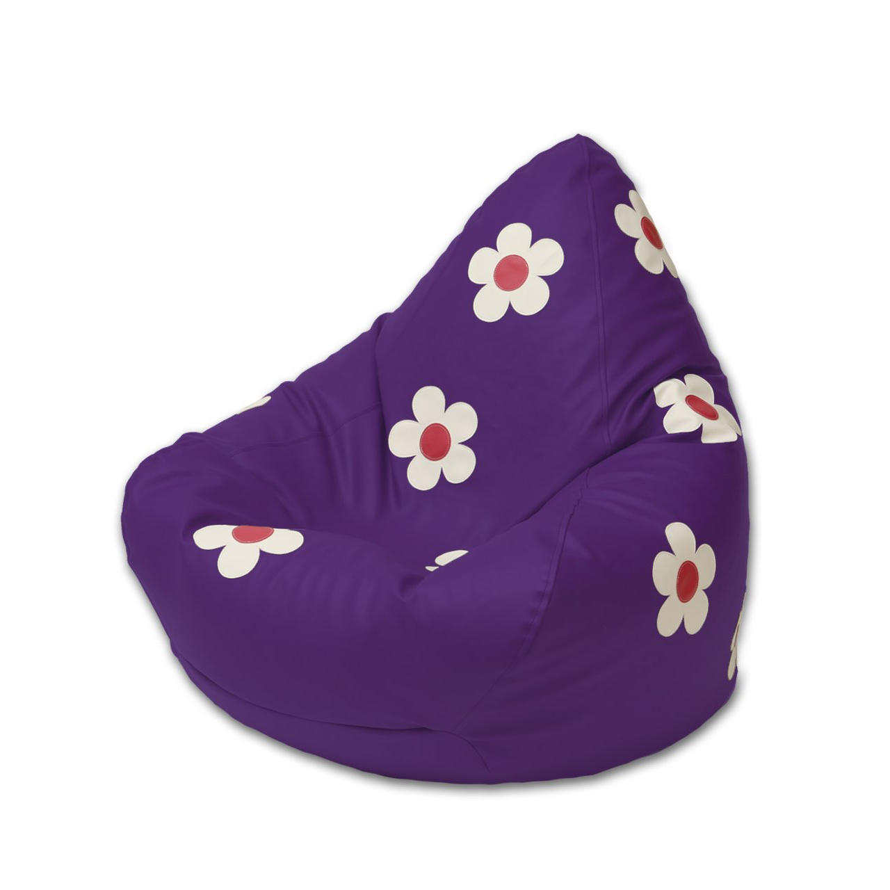 Daisy Bean Bag in grape
