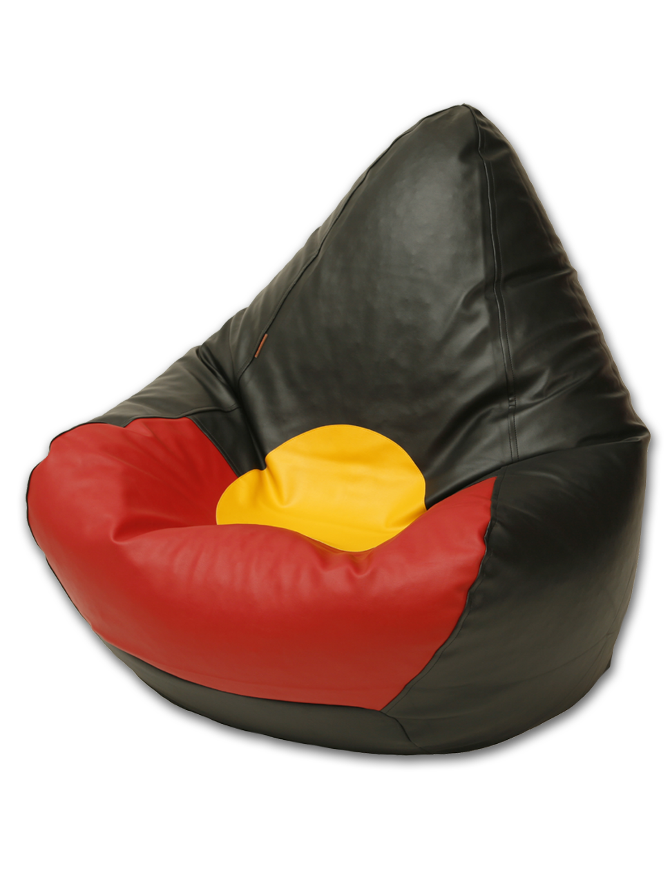 Aboriginal Flag Bean Bag