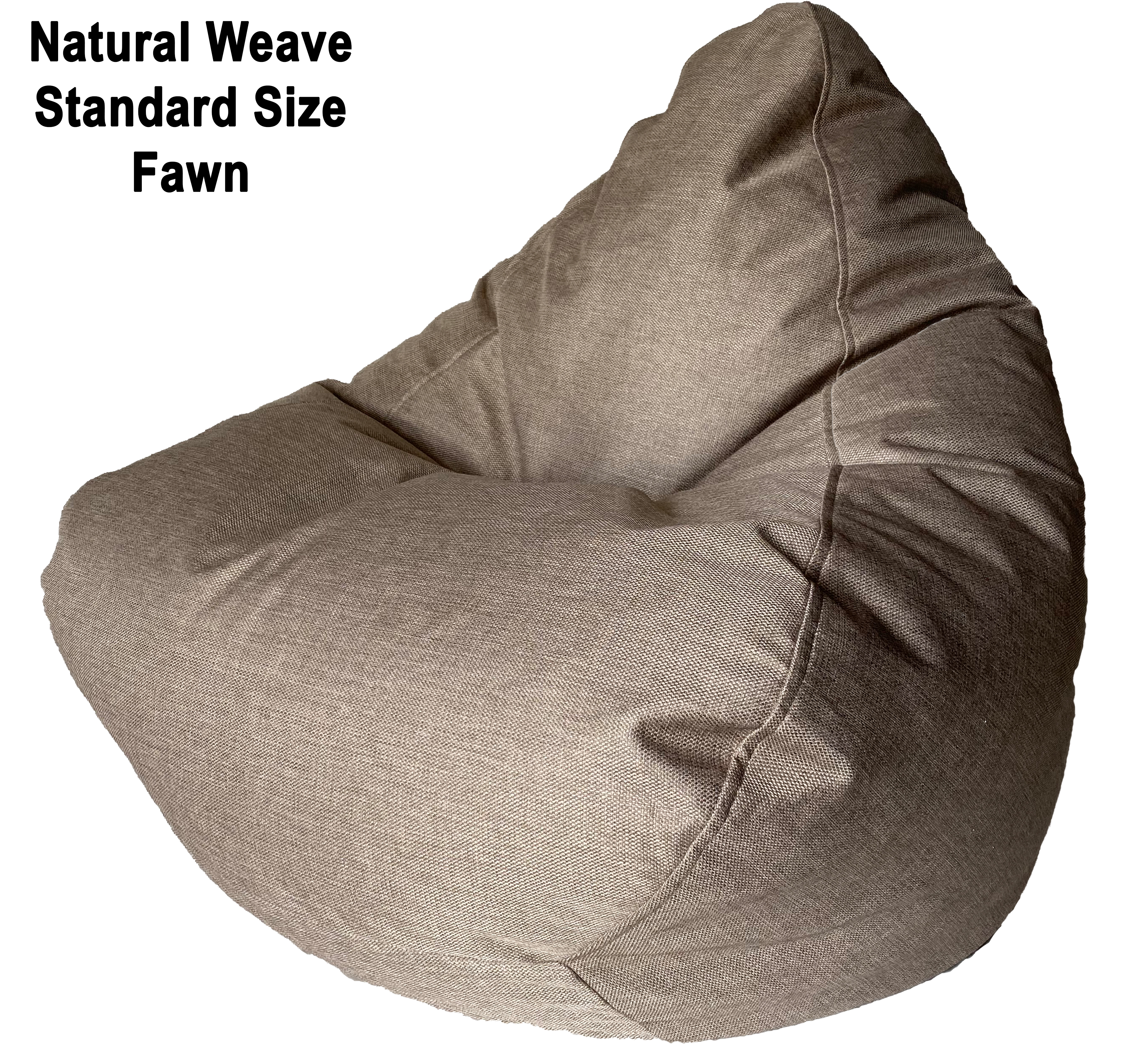 Fawn Natural Weave Standard Size