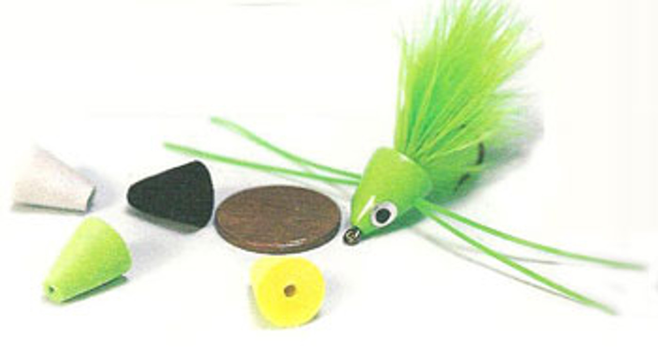 Rainy's DINKS Panfish Diving Poppers - 6/pack