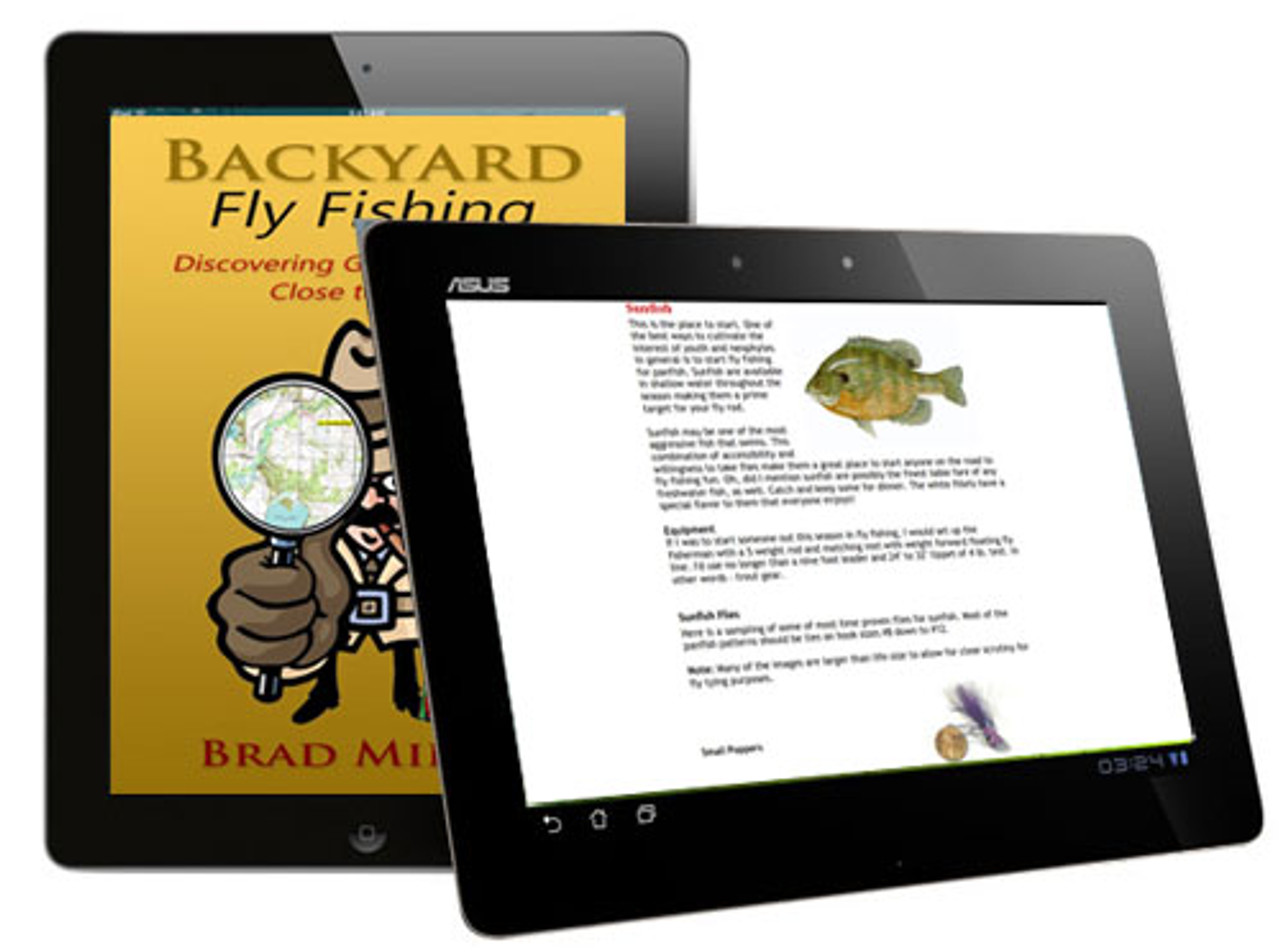 Backyard Fishing - Brad Miller - E-Reader Version