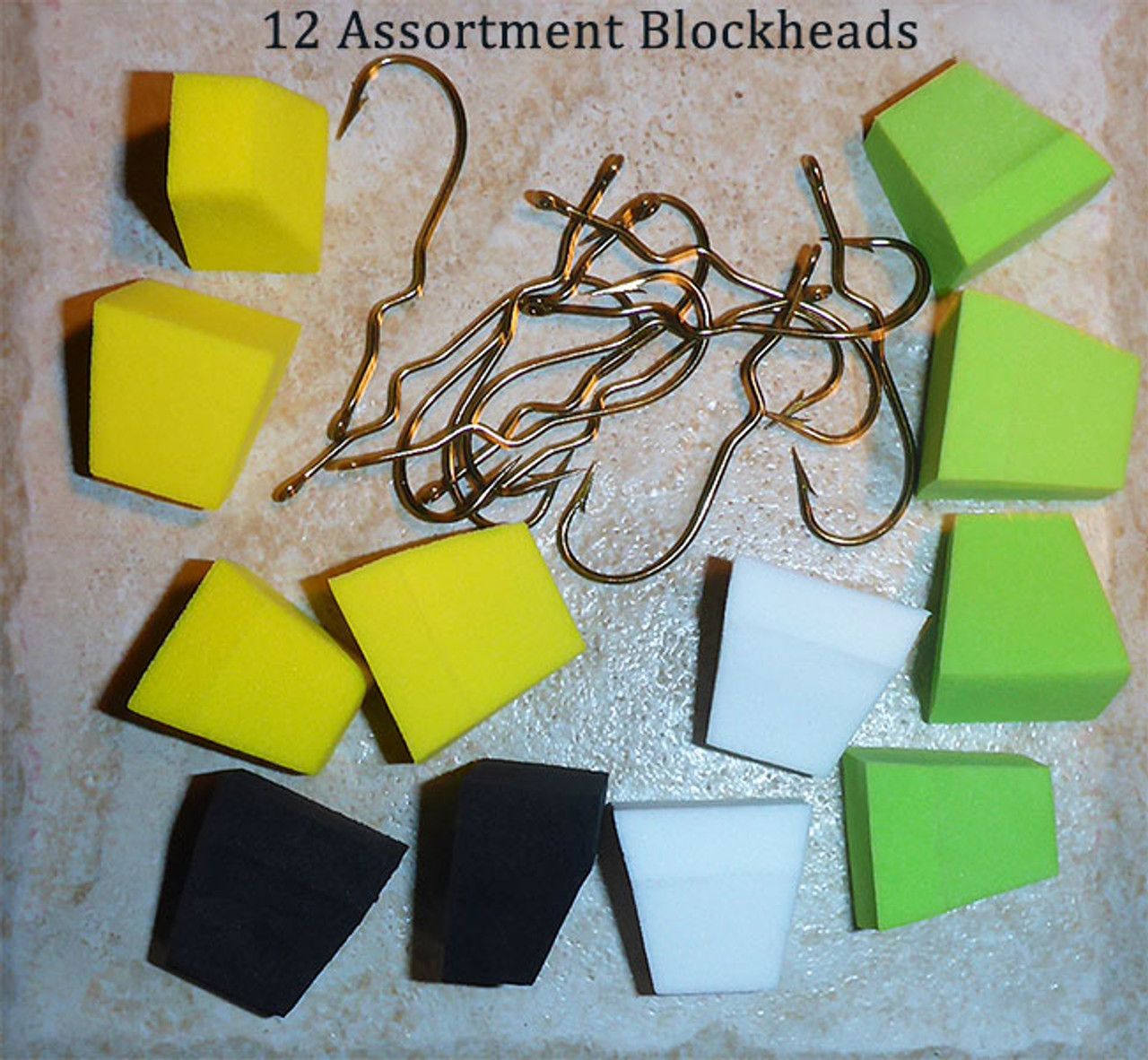 Foam Blockhead Popper Kits