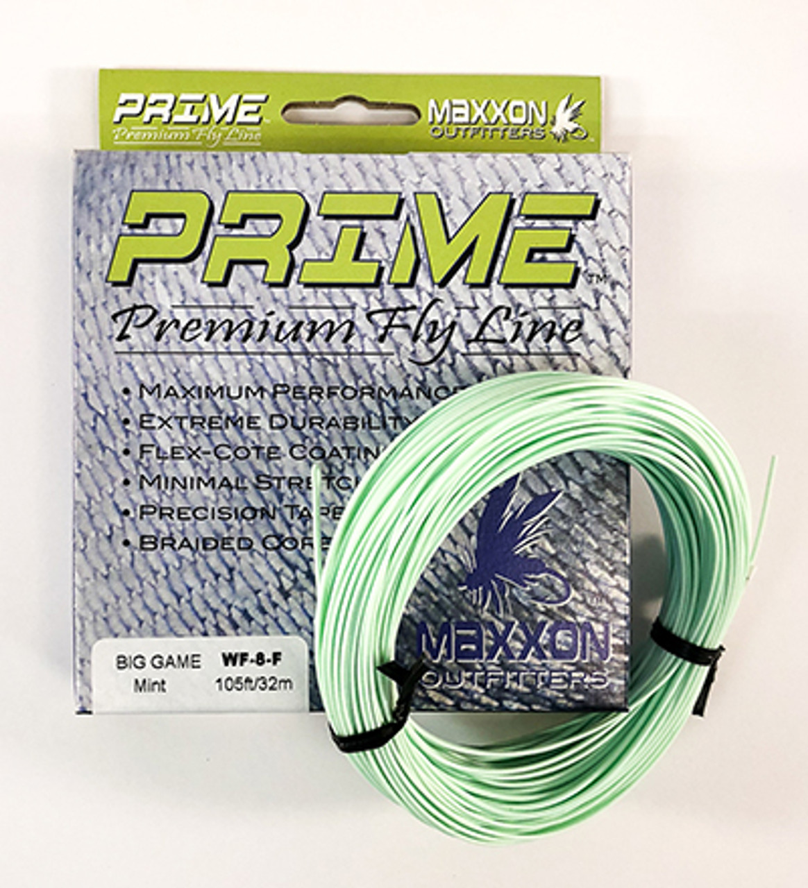 "MAXXON PRIME PREMIUM ""BIG GAME"" FLY LINE"
