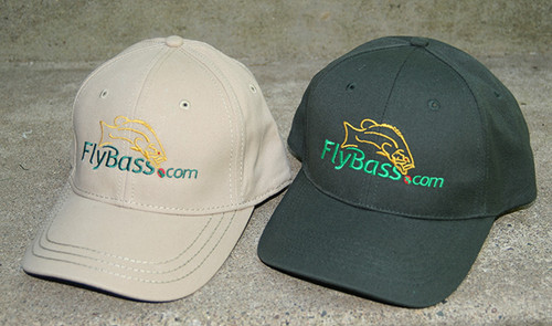 FlyBass Premium Fishing Hat | Partially Structured
