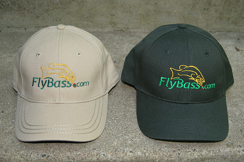FlyBass Premium Fishing Hat | Partially Structured