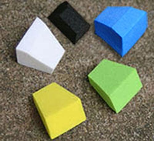 FlyBass Blockhead Foam Popper Bodies - Three Sizes - Six Packs