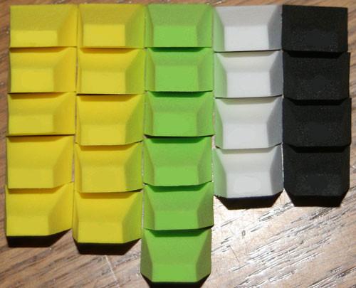 FlyBass Blockhead Foam Body Assortments Packs - 6,12,24,36,48