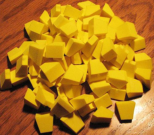 FlyBass Blockhead Foam Popper Bodies - Bulk Packs - One Color