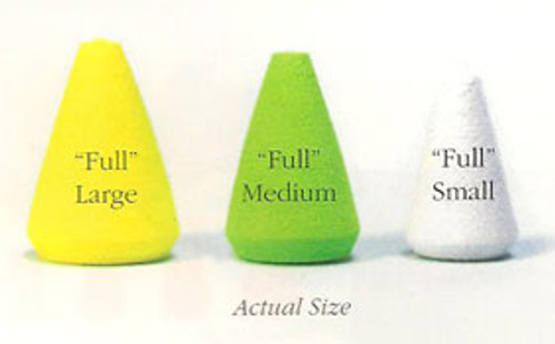 Rainy's Full Cone Foam Popper Bodies - 6/Pack