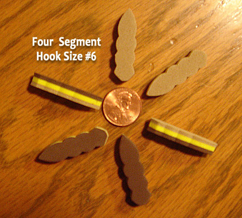Rainy's GORILLA Bodies - 4 Segment - 6/pack