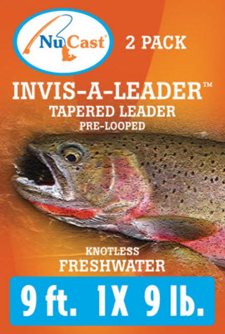 Invis-A-Leader Tapered Leader 2/pack