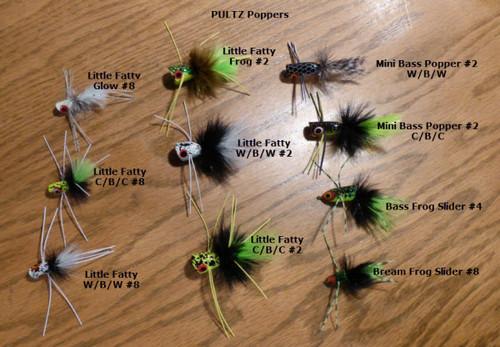 FlyBass-Pultz Ten Fly Assortment