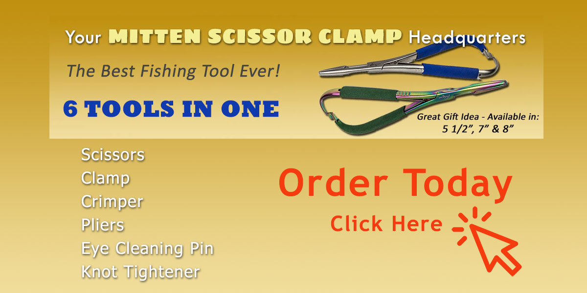 Mitten Scissor Clamp - Best Fishing Tool