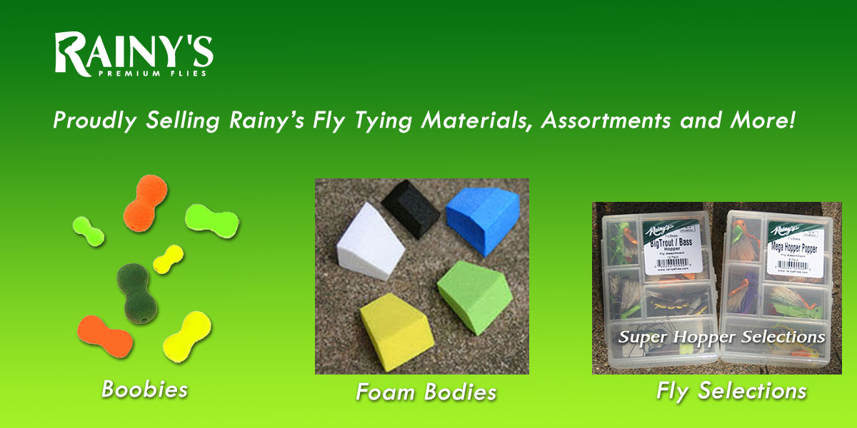 Selling Rainy's Flies and Supplies