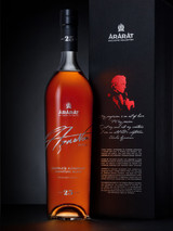 ARARAT BRANDY AZNAVOUR EDITION CHARLES AZNAVOUR SIGNATURE BLEND ARMENIA 25 YR 750 ML