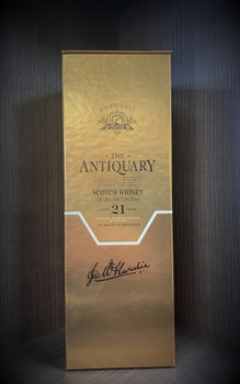 THE ANTIQUARY SCOTCH WHISKEY AGED 21 YEARS