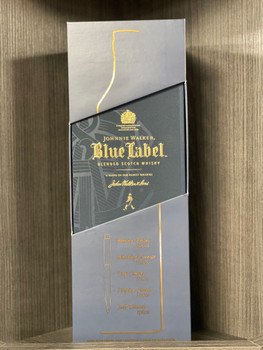 Johnnie Walker Blue Label Blended Scotch Whisky 750 ML with Gold Pen